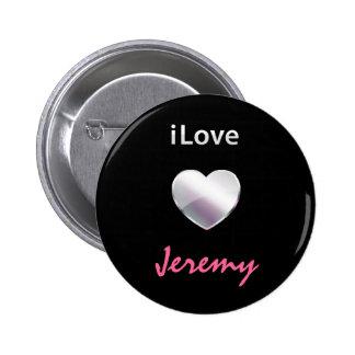 I Love Jeremy Pin