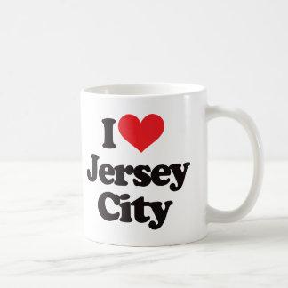 I Love Jersey City Coffee Mugs