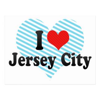 I Love Jersey City Postcard