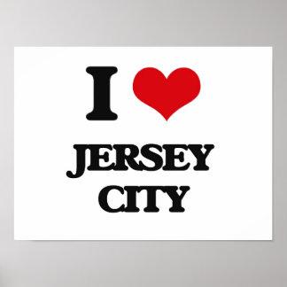 I love Jersey City Print
