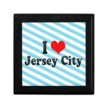 I Love Jersey City, United States Jewelry Box