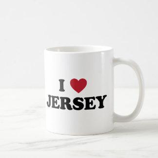 I Love Jersey Coffee Mug