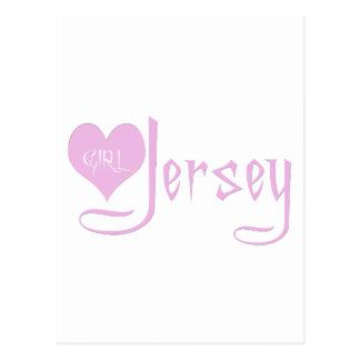 I Love Jersey Girl Postcard
