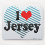 I Love Jersey Mouse Pad