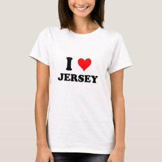 I Love Jersey T-Shirt
