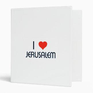 I Love Jerusalem Binder