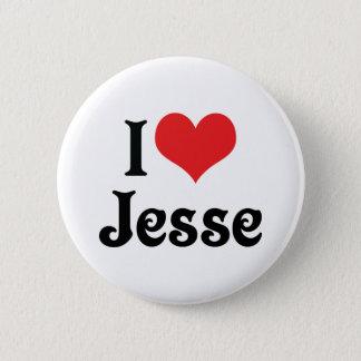 I Love Jesse Button