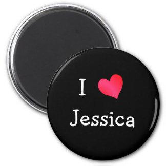 I Love Jessica Magnet