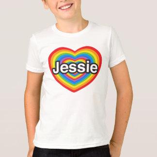I love Jessie. I love you Jessie. Heart T-Shirt