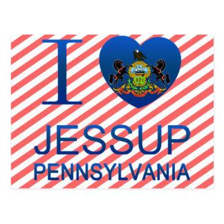 I Love Jessup, PA Post Card