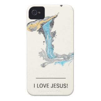 I Love Jesus iPhone 4 Covers