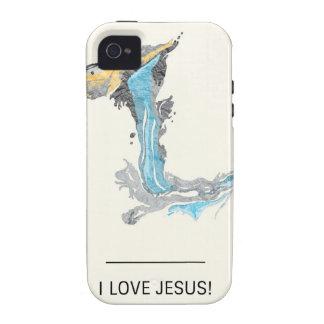 I Love Jesus iPhone 4 Cover