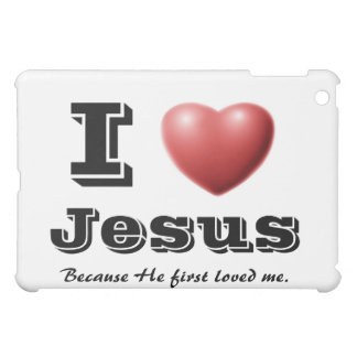 I Love Jesus Case For The iPad Mini