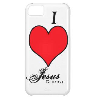 I LOVE Jesus Christ iPhone 5C Cases