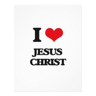 I Love Jesus Christ Flyer