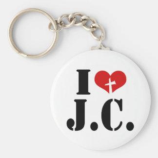 I Love Jesus Christ Key Chain