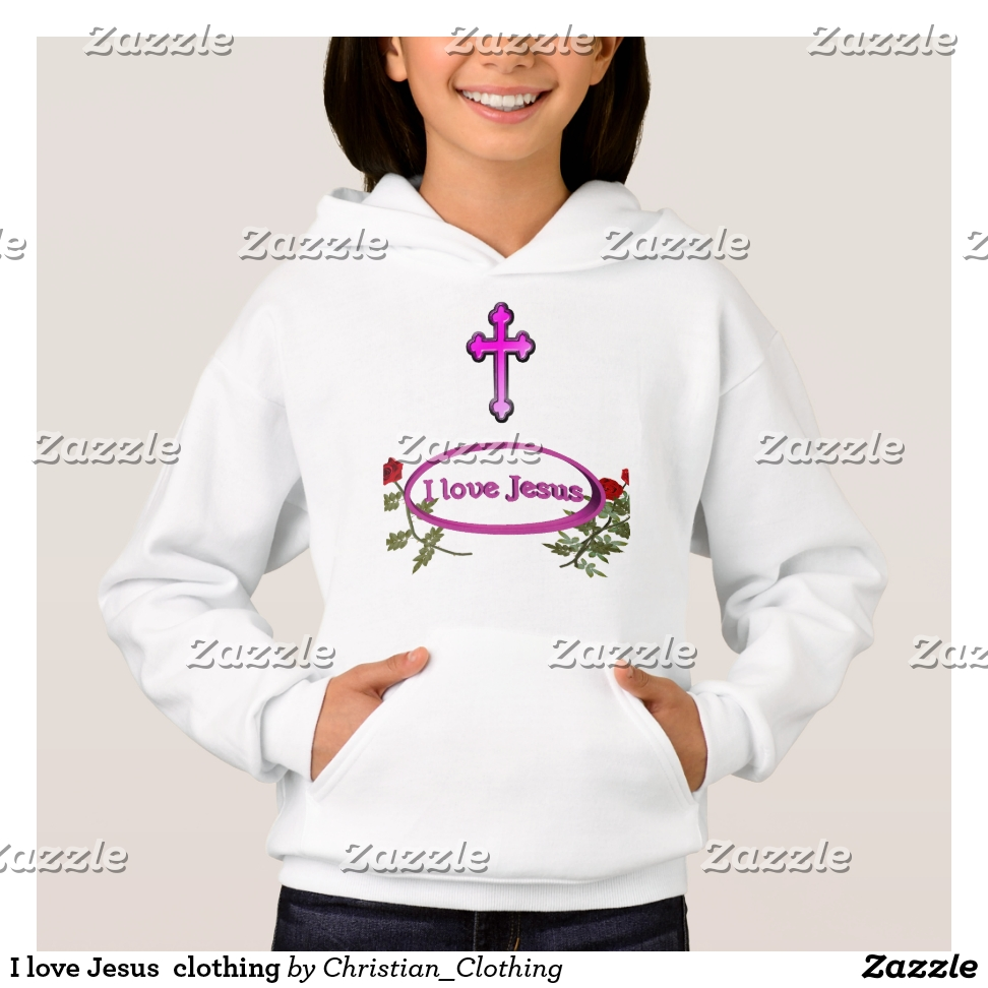 I love Jesus  clothing Hoodie - Best Selling Long-Sleeve Street Fashion Shirt Designs