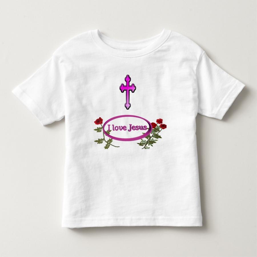 I love Jesus  clothing Toddler T-shirt - Best Selling Long-Sleeve Street Fashion Shirt Designs