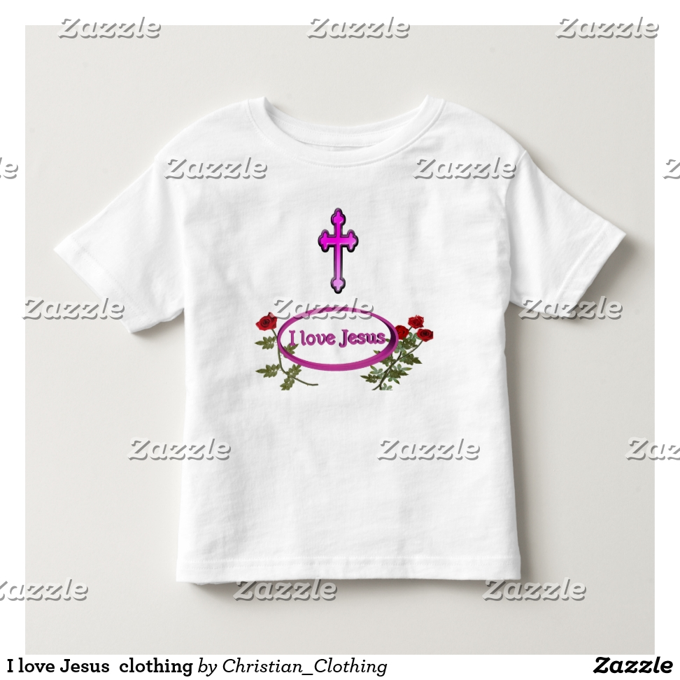 I love Jesus  clothing Toddler T-shirt - Best Selling Long-Sleeve Street Fashion Shirt Designs