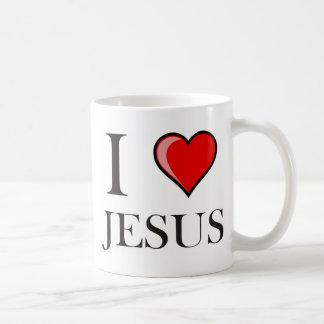 I Love Jesus Coffee Mug