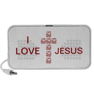 I love Jesus Cross doodle