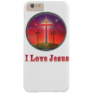 I love Jesus gifts Barely There iPhone 6 Plus Case