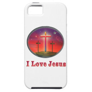 I love Jesus gifts iPhone 5 Cases
