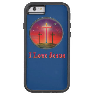 I love Jesus gifts Tough Xtreme iPhone 6 Case