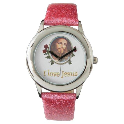 I love Jesus gifts Watch