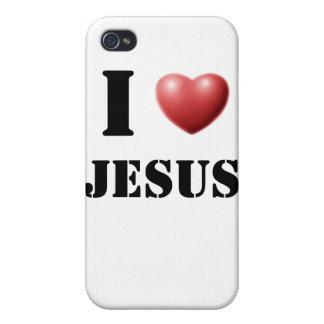 I Love Jesus iPhone 4/4S Covers