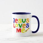 I Love Jesus / Jesus Loves Me Coffee Mug