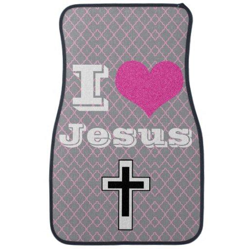 I Love Jesus Jesus Take The Wheel Car Mats Zazzle