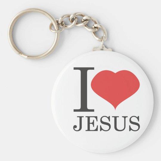 I love JESUS Keychain