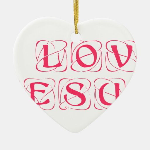 I-love-Jesus-kon.png Adorno De Cerámica En Forma De Corazón