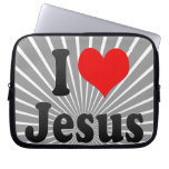 I love Jesus Laptop Computer Sleeves