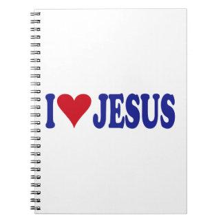 I Love Jesus Notebook