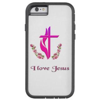 I love Jesus phone cases Tough Xtreme iPhone 6 Case
