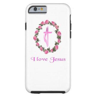 I love Jesus phone cases Tough iPhone 6 Case