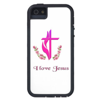 I love Jesus phone cases Case For iPhone 5