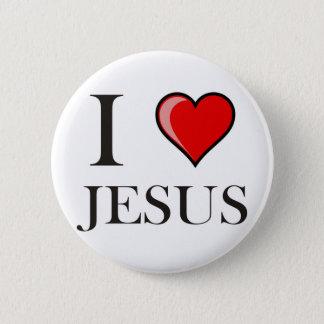 I Love Jesus Pinback Button