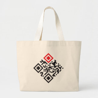 I love Jesus QR code shopping bags