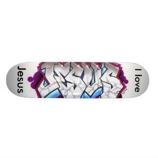 I love Jesus Skateboard
