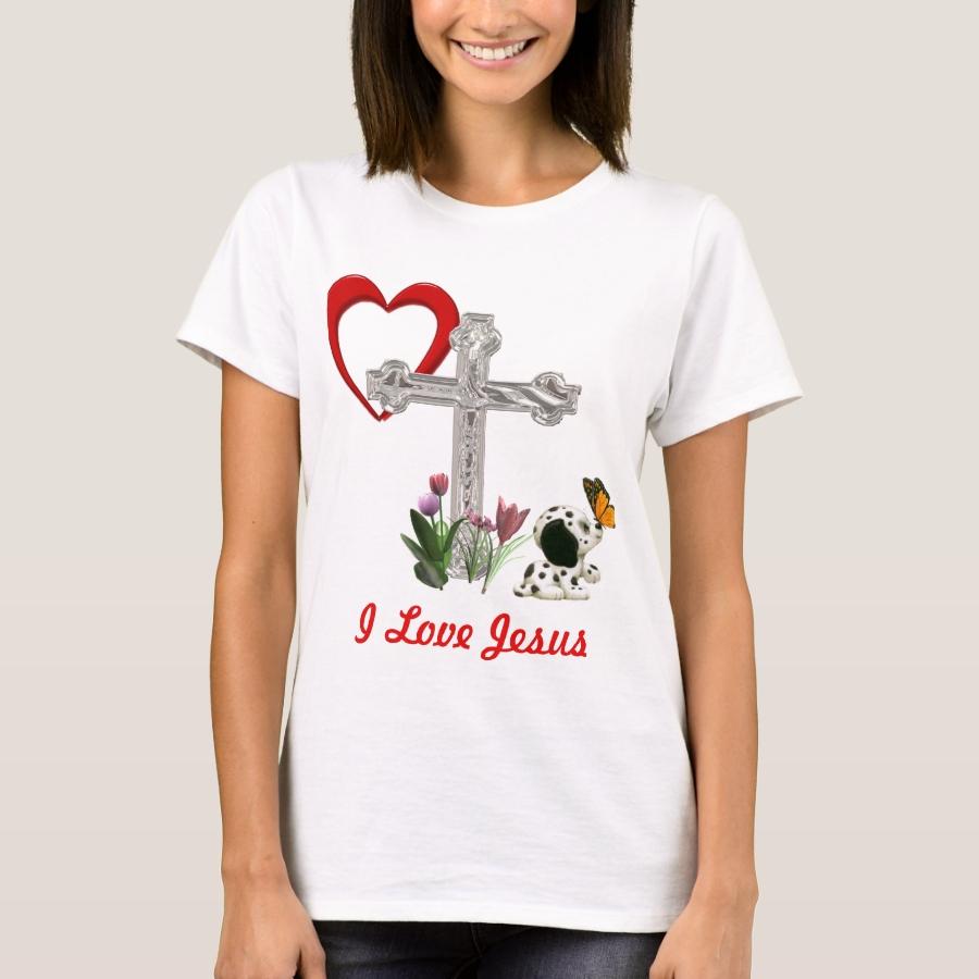 I love Jesus T-Shirt - Best Selling Long-Sleeve Street Fashion Shirt Designs