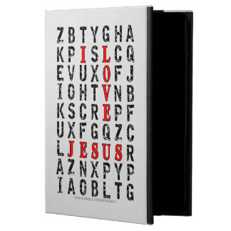 I Love Jesus Word Search Powis iPad Air 2 Case