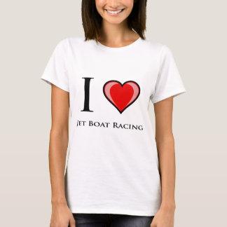 I Love Jet Boat Racing T-Shirt