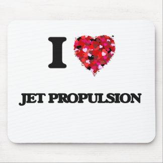 I Love Jet Propulsion Mouse Pad