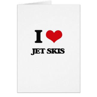 I Love Jet Skis Card