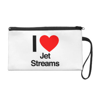 i love jet streams wristlet clutch
