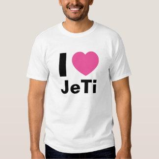 I Love JeTi T Shirt