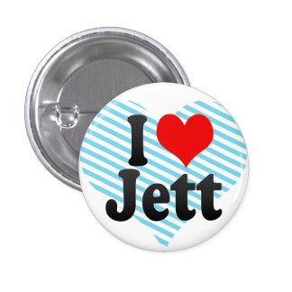 I love Jett Buttons